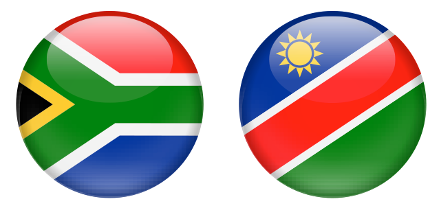 South Africa and Namibia